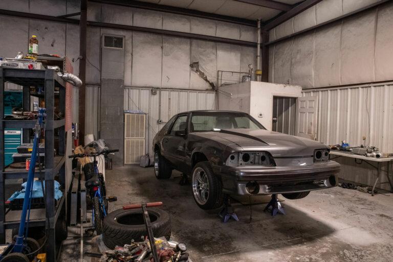 automotive restoration in progress
