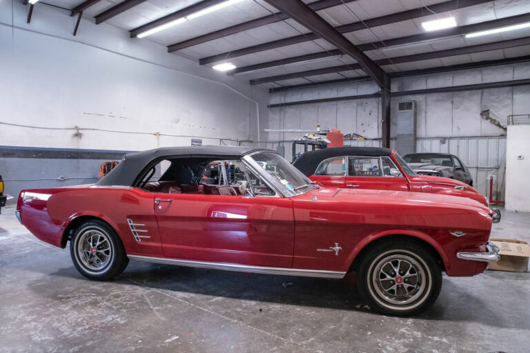 classic mustang restoration