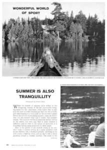 sport illustrated 1959 21 aout camp munro test