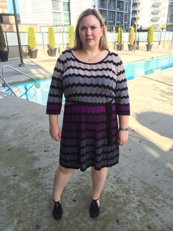 Dress - Gabby Skye via Nordstrom Shoes - Coclico via Gravity Pope
