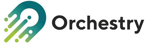 Orchestry Logo Light with Text Rectangle 500px