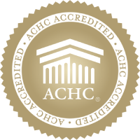 gold seal of accreditation from ACHC