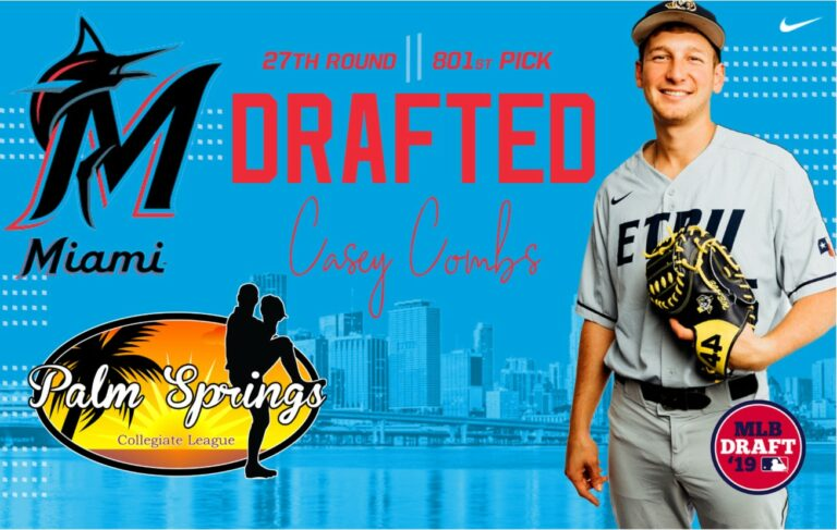 PSCL Combs, drafted by Marlins