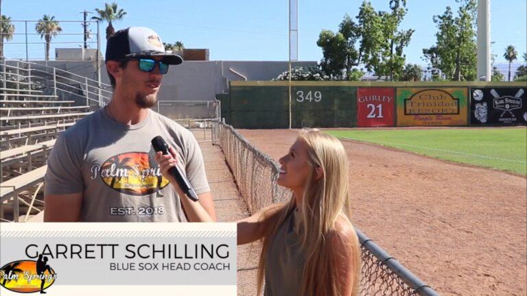 Coach Schilling – Blue Sox, Interview