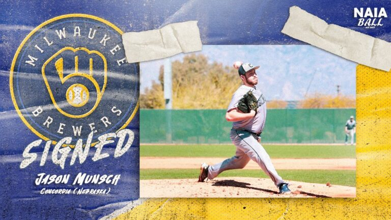 Munsch Signs with Brewers – 2018 PSCL Pitcher of the Year
