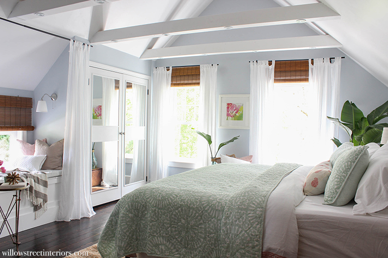 bare to beautiful master bedroom