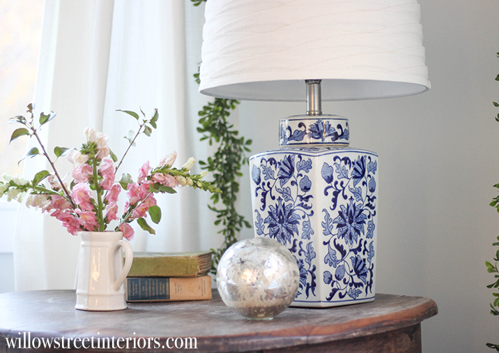 how to make your own ginger jar lamp