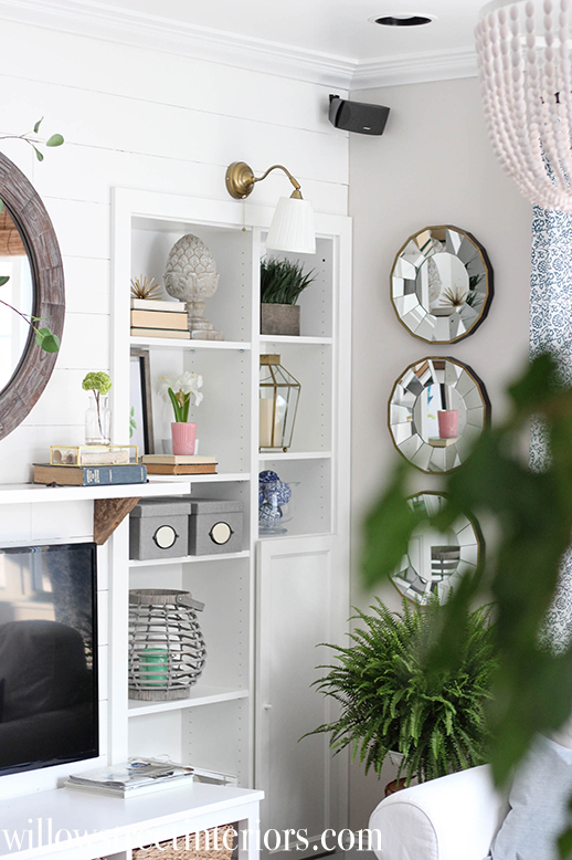 simple spring house tour