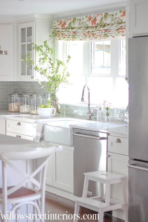 Airy and Light White Kitchen Reveal