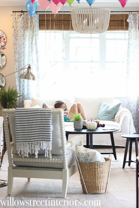 living room spool chair   willow street interiors