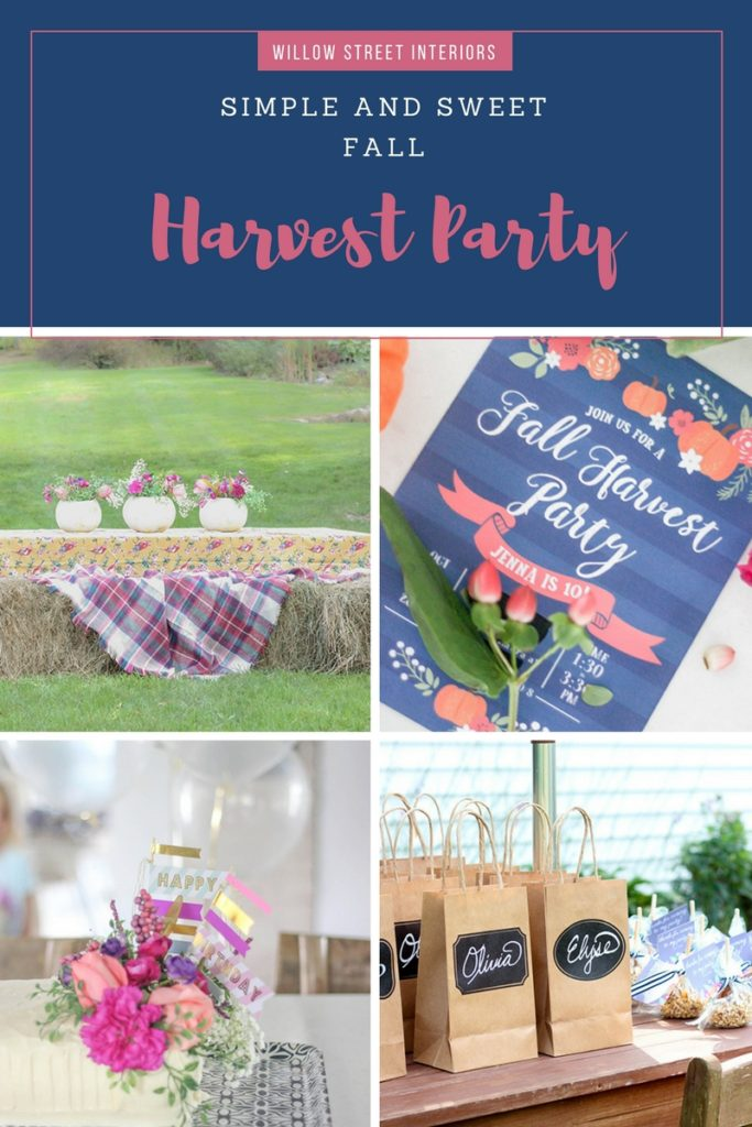 a girls fall birthday party