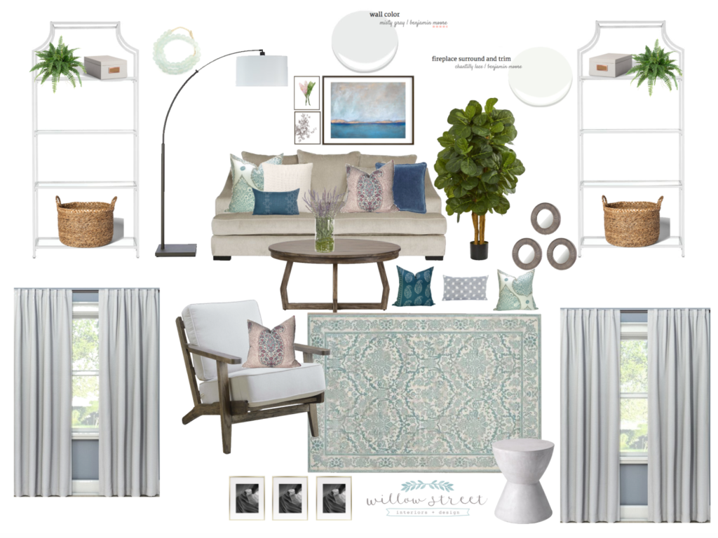 Living Room Moodboard