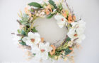 Earthy and Elegant Spring Wreath Tutorial