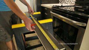 IKEA Sektion Toe Kick Installation