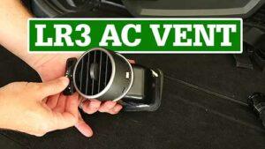 LR3 Air Outlet, AC Vent Repair