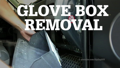 Land Rover LR3 Glove Box Removal