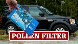 LR3 Pollen Filter, Cabin Air Filter Location and Change