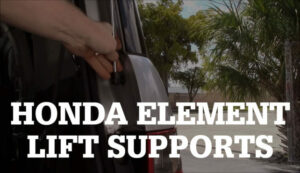How to Replace Honda Element Liftgate Supports