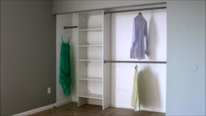 The Standard Height Dual Closet Rods