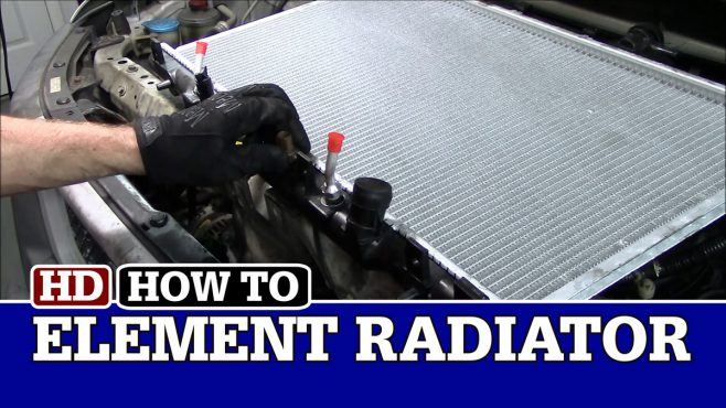 How to Replace a Radiator on a Honda Element