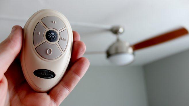 Program Harbor Breeze Ceiling Fan Remote, Conflict Fix