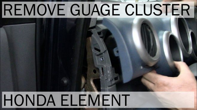 How to Remove Honda Element Gauge Cluster | VIDEO