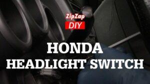Replace Honda Element Turn Signal and Headlight Switch