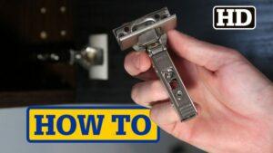 IKEA UTRUSTA Hinge & Door Damper Install