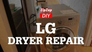 LG Dryer Repair | Auto Dry Function not Working