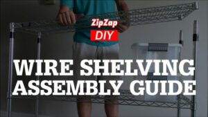 Chrome Wire Shelving Assembly Instructions | VIDEO