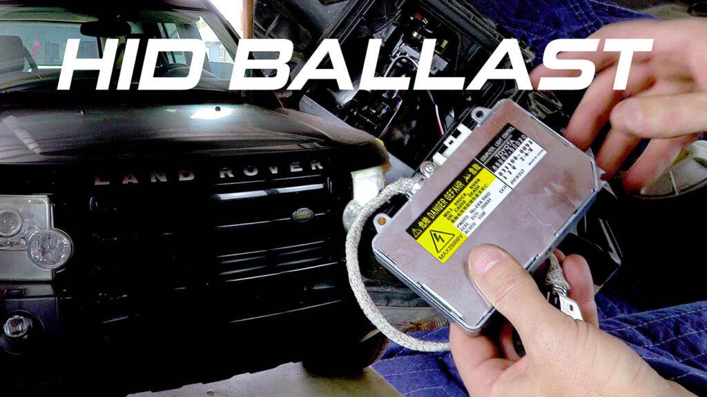 Headlight Ballast Replacement