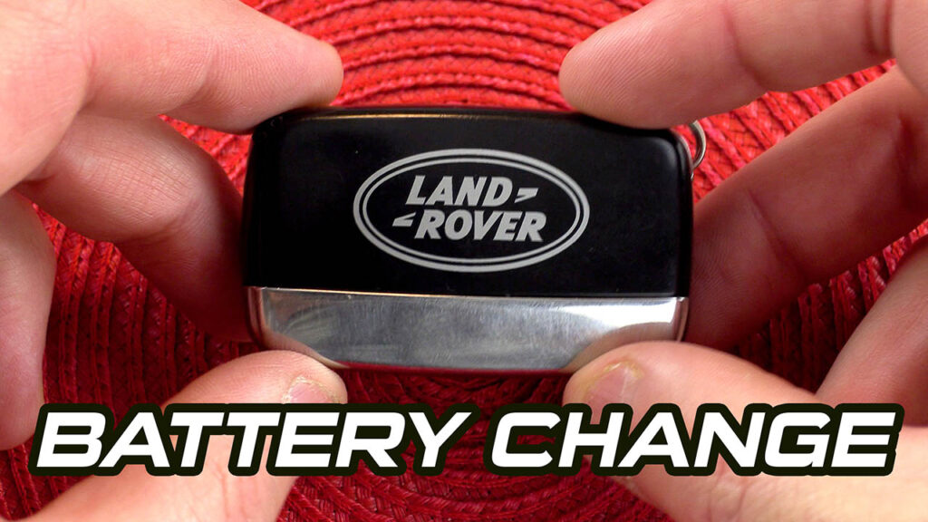 Land Rover Battery Key Replacement  / Range Rover Key Battery