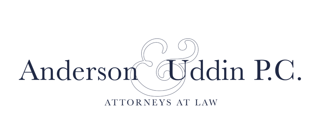 Anderson & Uddin P.C. Attorneys at Law
