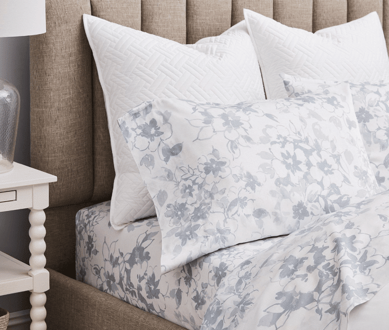boll and branch floral sheets