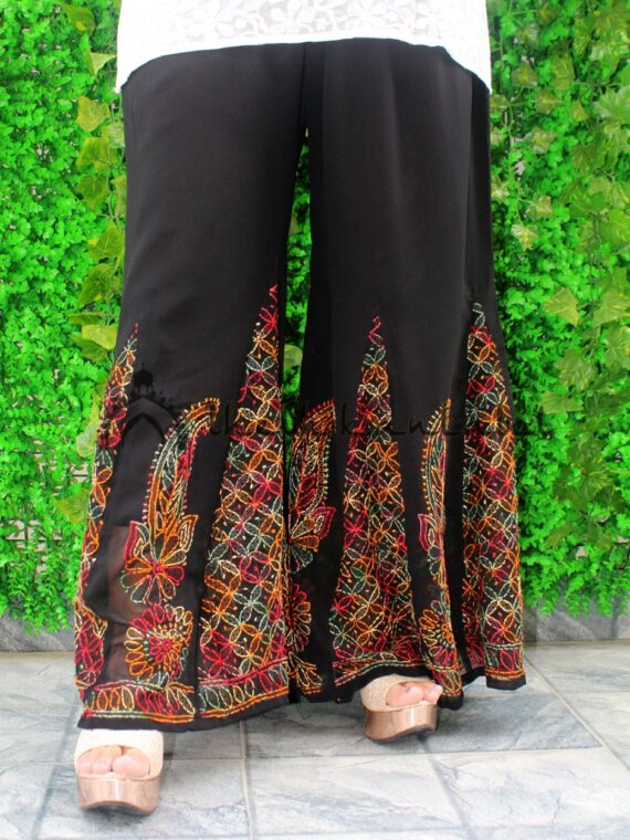 Black Multi Sharara 02