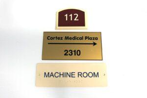 Cortez Medical Plaza Plaque