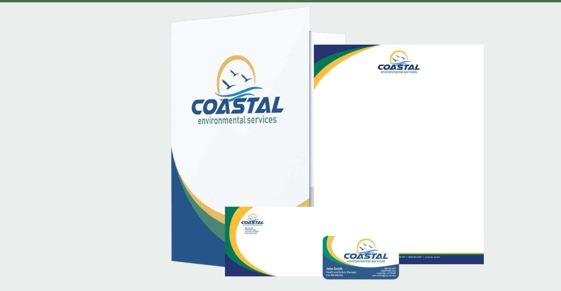 Coastal Environmental Services Example Signs