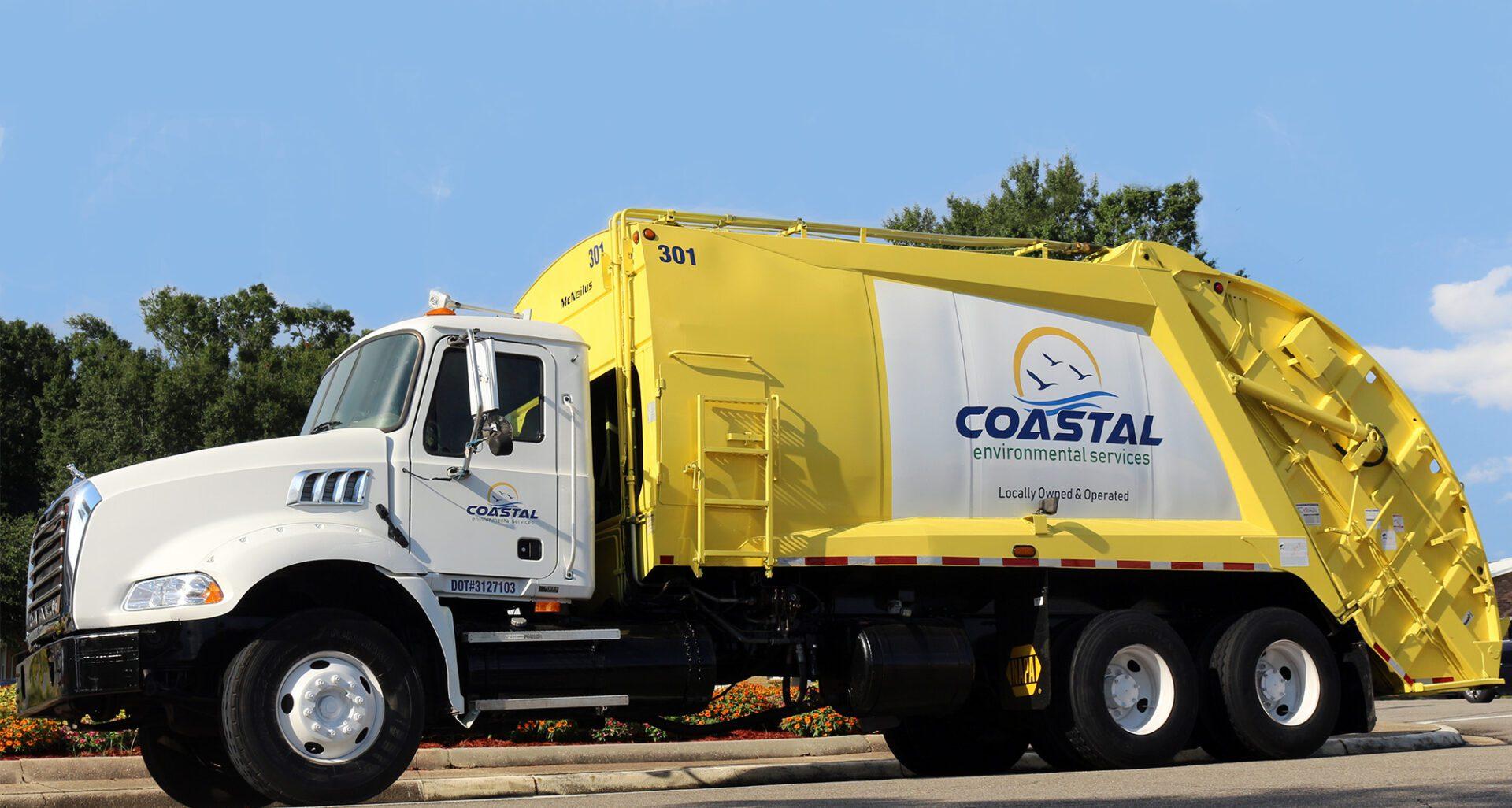 Vehicle graphics Coastal Environmental Services