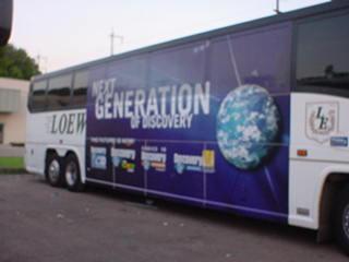 Fleet Graphics Slidell, LA Trailer Wraps SEI HQ Next Gen of Discovery