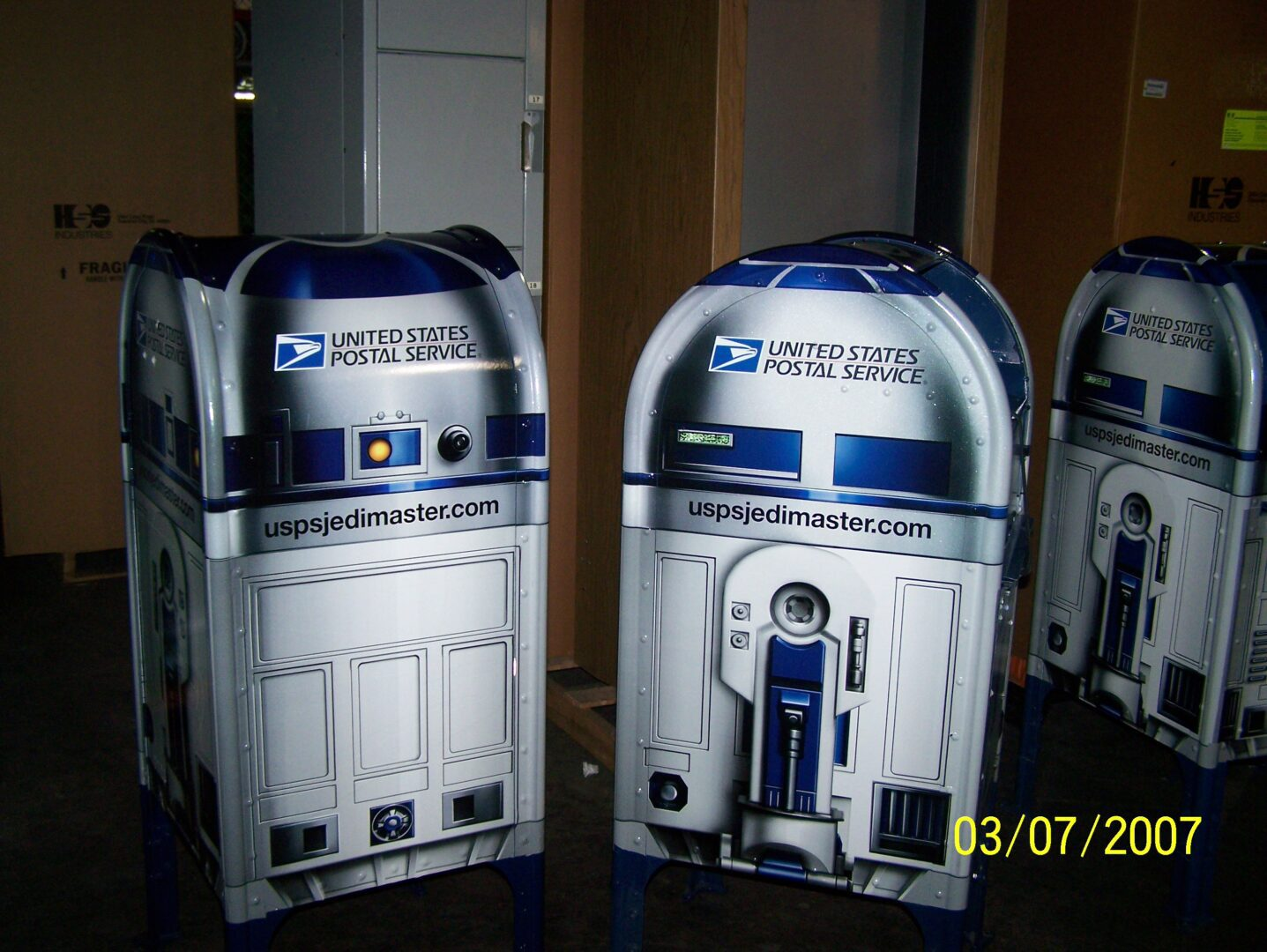 USPS R2D2 Mailbox Graphics Wraps by SEI HQ