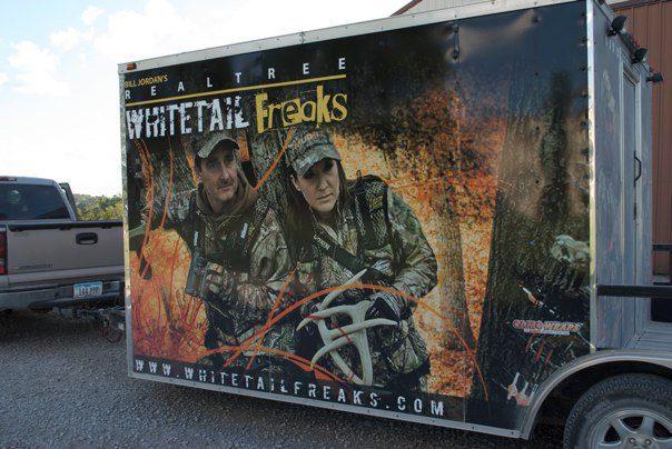 Vehicle Wraps trailers Whitetail Freaks SEI HQ