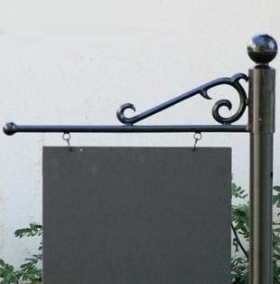 Pole Sign