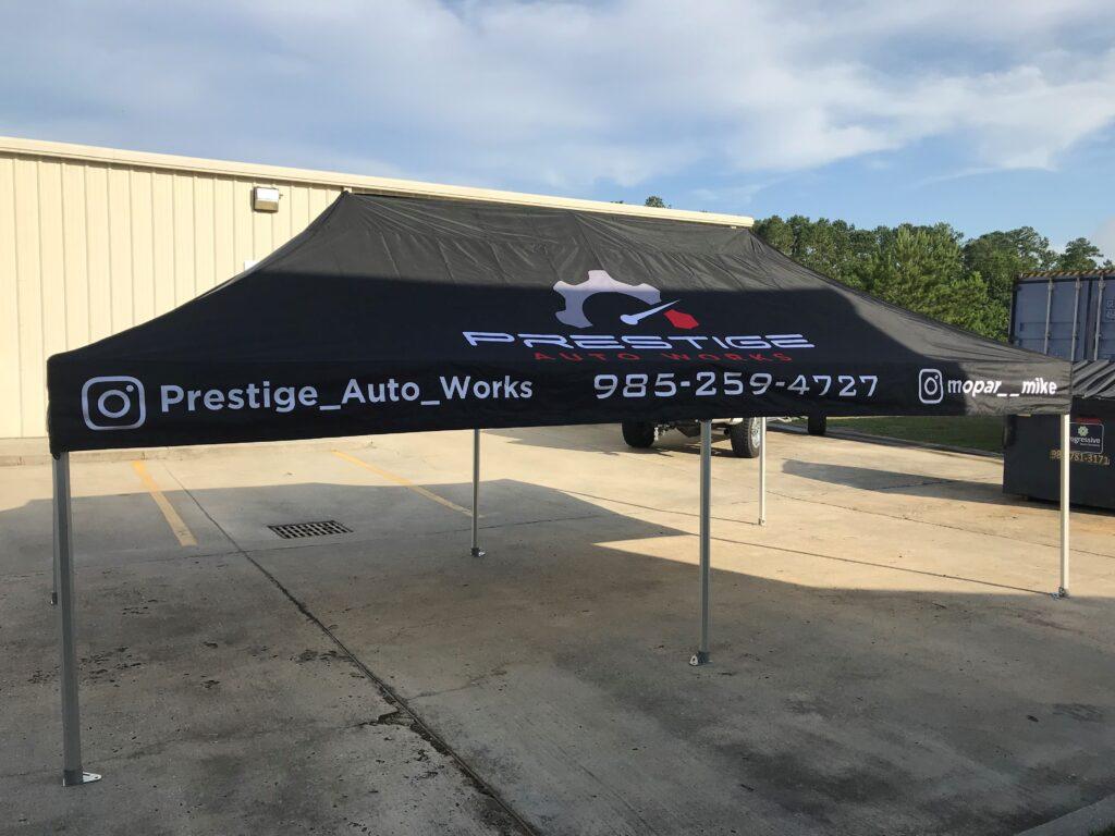 Prestige Auto Works Canopy