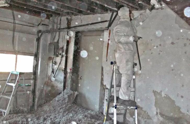 Basement Fire Damage