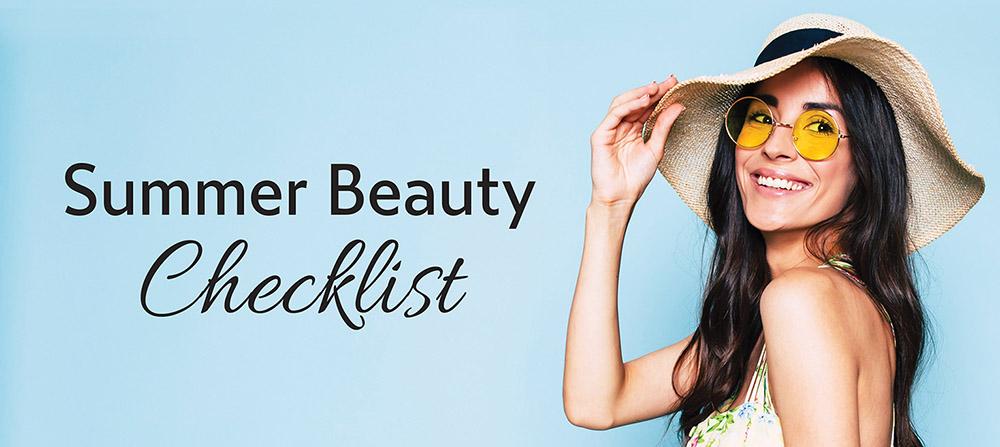 Summer Beauty Checklist
