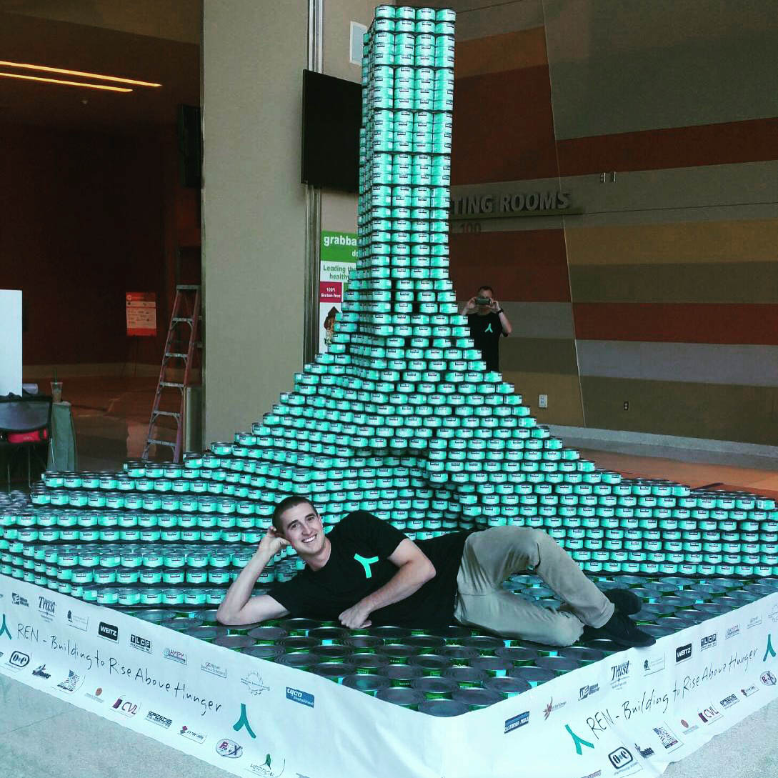 St. Mary's CANstruction