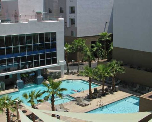 Campus Suites Pool