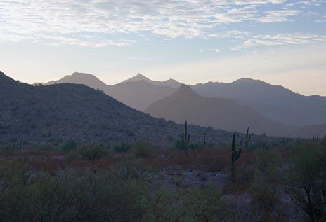 Estrella Mountain Scene