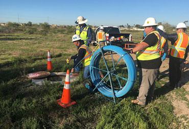 EPCOR New River Siphon Crossing   Civil Engineering Phoenix Arizona