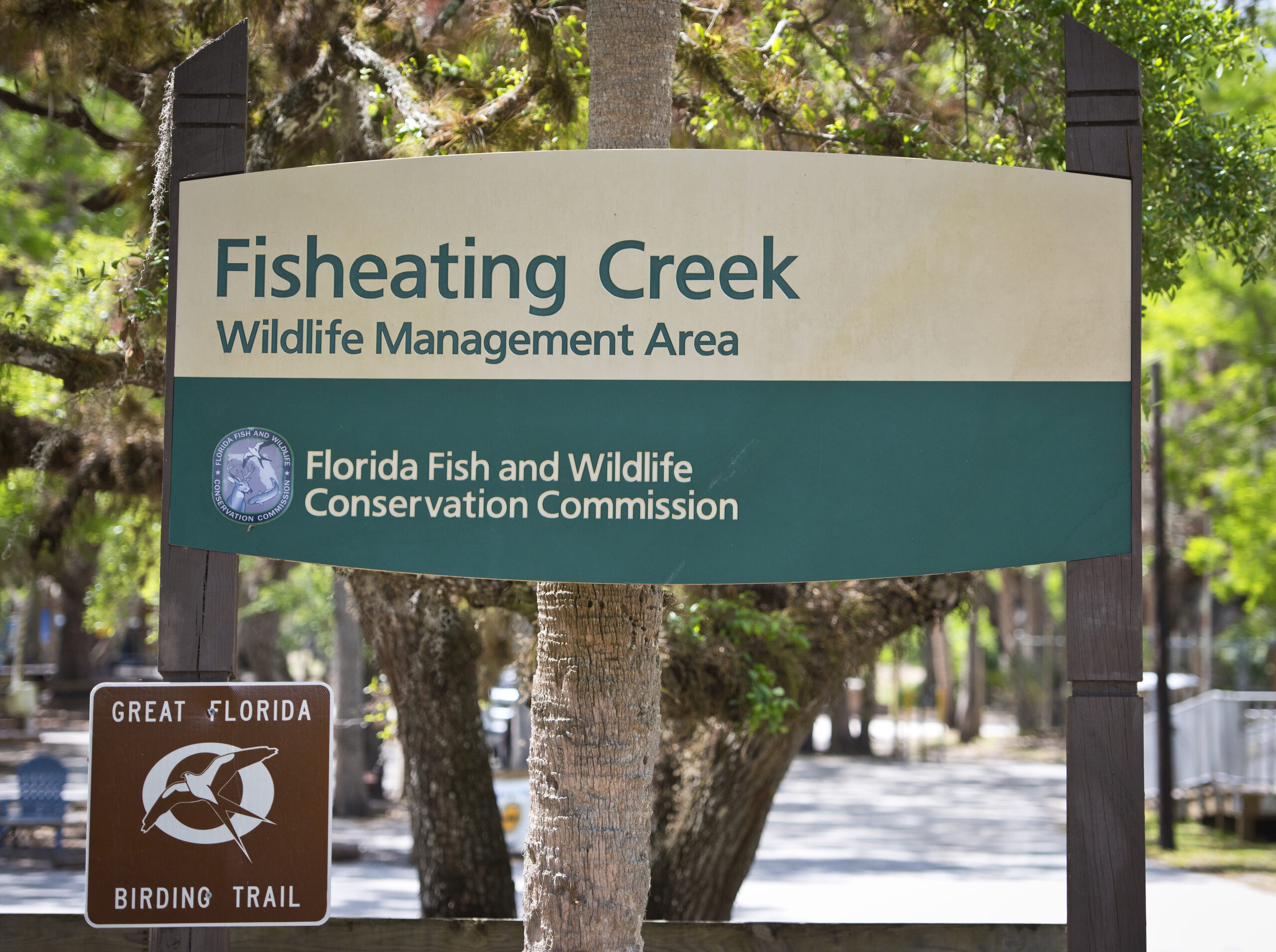 Creek Entry Sign